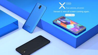 Conheça o Vernee X, smartphone acessível com quatro câmeras e bateria monstruosa