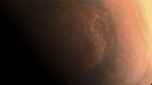 Missão chinesa Tianwen-1 revela suas primeiras fotos de Marte em alta definição