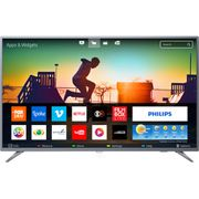 """Smart TV LED 50"""" Philips 50PUG6513/78 Ultra HD 4k com Conversor Digital 3 HDMI 2 USB Wi-Fi 60hz - Prata no Shoptime [cupom]"""