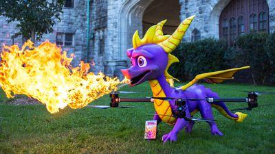 Activision cria drone de Spyro que cospe fogo em comemoração ao remaster