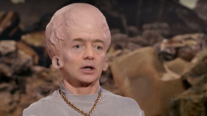 """Não dá para """"desver"""": confira deepfake com Bezos cabeçudo e Musk em Star Trek"""