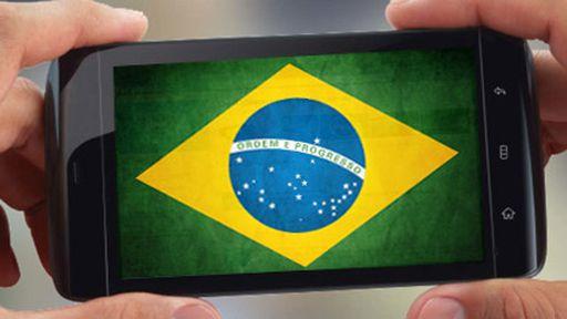 Brasil é o terceiro país que mais cresce no mercado móvel