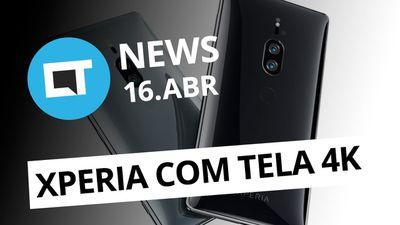 Xperia XZ2 Premium; Novo Mega Drive Mini; Novidade no WhatsApp e + [CT News]