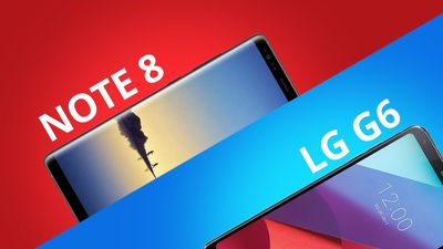 Galaxy Note 8 vs LG G6 [Comparativo]