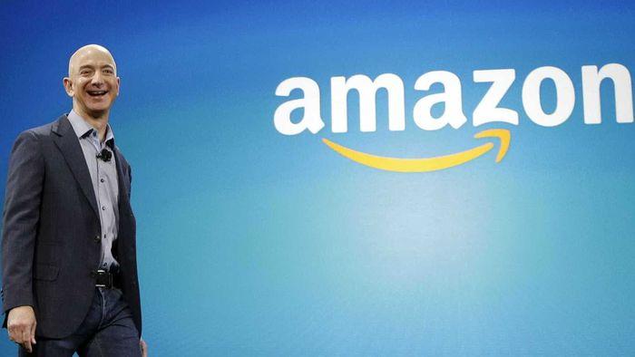 Jeff Bezos vende US$ 1,8 bilhão em ações da Amazon