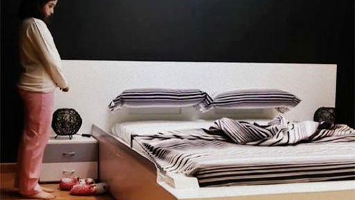 Para os preguiçosos: uma cama que se arruma sozinha!