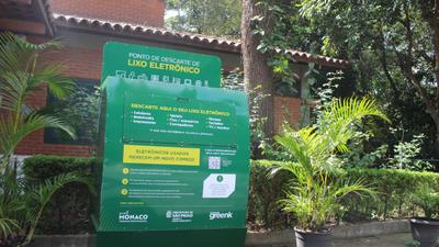 Grupo espalha pontos de coleta de lixo eletrônico pela cidade de São Paulo