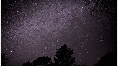 Chuva de meteoros será visível do Brasil neste domingo (22)