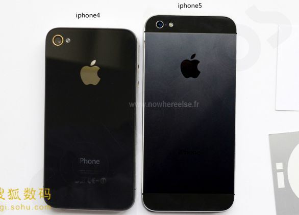Comparativo iPhone 5 x iPhone 4S