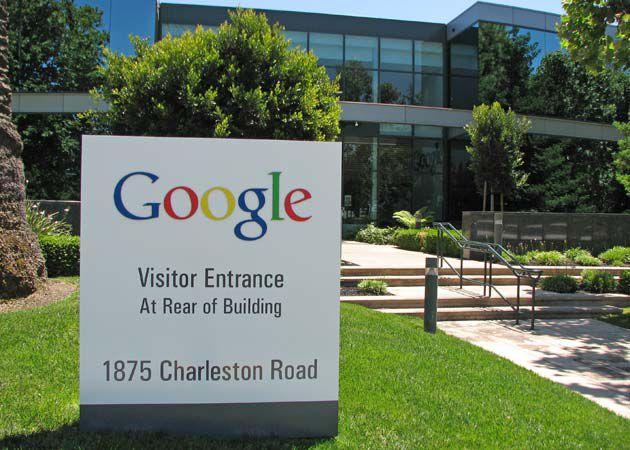 Entrada do Google