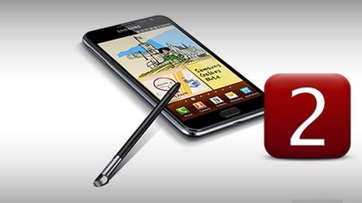 Samsung Galaxy Note II será apresentado no dia 15 de agosto