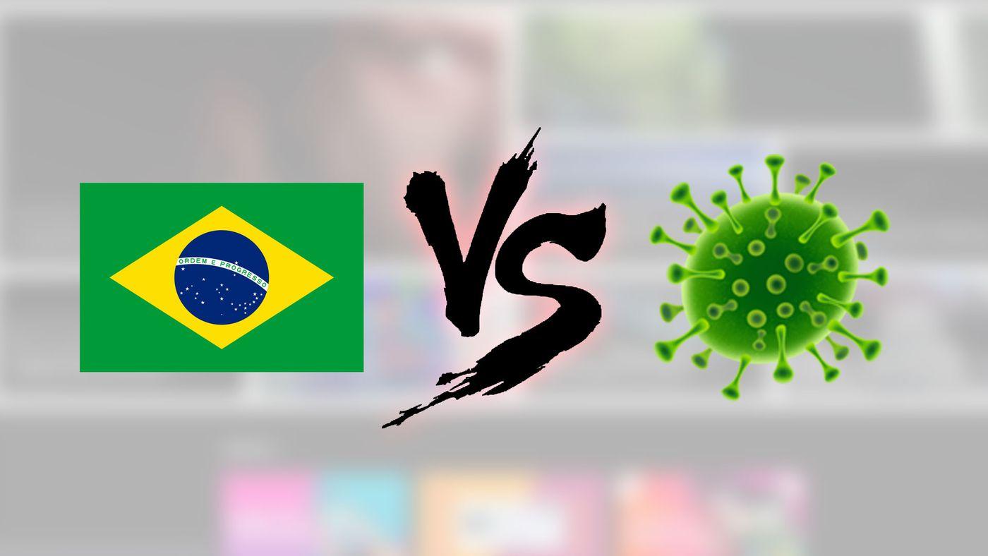 Coronavírus   Sete estados no BR apresentam queda em transmissão ...