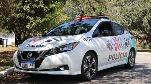Polícia Militar de São Paulo começa a usar carros elétricos para patrulha