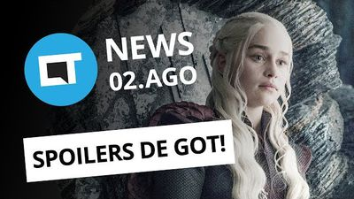 Hackers vazam spoilers de Game of Thrones; Vaga de emprego na NASA e+ [CT News]