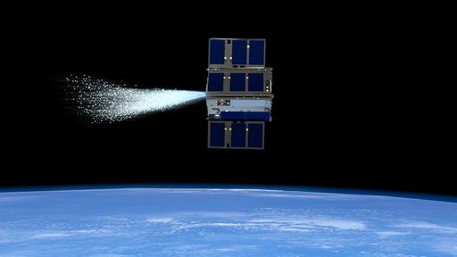 """Satélites movidos a vapor conseguiram manobrar no espaço """"conversando"""" entre si"""