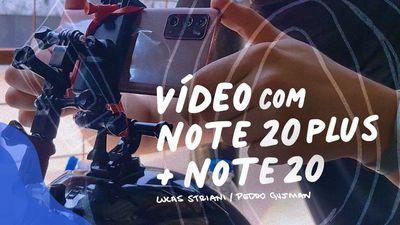 Galaxy Note 20 com câmera de cinema? Veja do que ela é capaz!