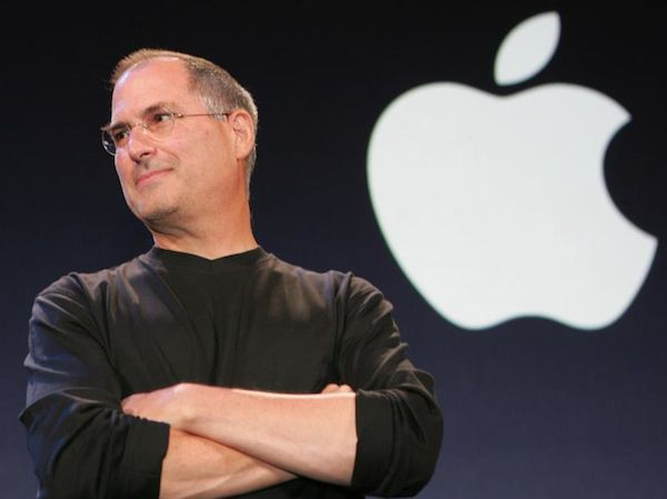 Steve Jobs em conferência da Apple