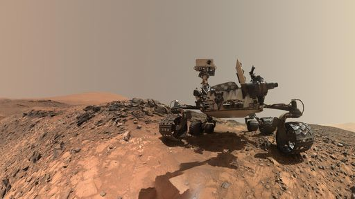 Parabéns, Curiosity! Rover da NASA comemora 8 anos explorando o planeta Marte