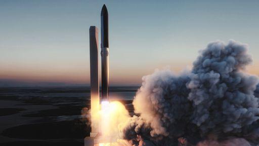 SpaceX quer usar internet Starlink no 1º lançamento orbital do foguete Starship
