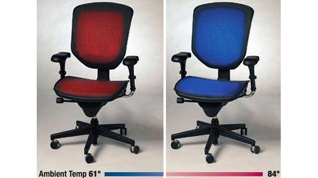 Cadeiras aquecidas