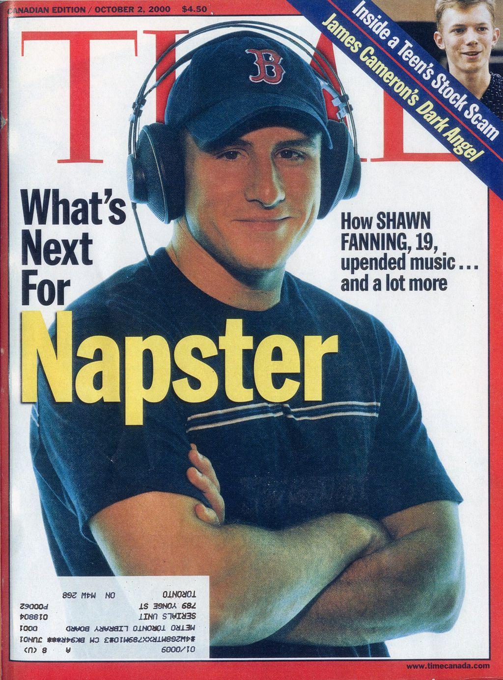 Napster na TIME