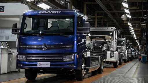 e-Delivery, caminhão elétrico da Volkswagen, tem produção iniciada no Brasil