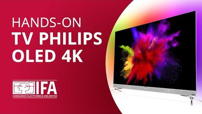 Primeira TV OLED 4K da Philips com Ambilight [Hands-on IFA 2016]