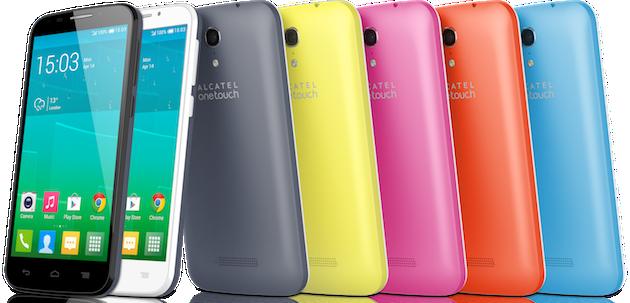 Um dos principais diferenciais dos aparelhos Pop S3 e S7 será a possibilidade de trocar a cor do aparelho apenas substituindo a parte traseira da carcaça colorida (Imagem: Reprodução)