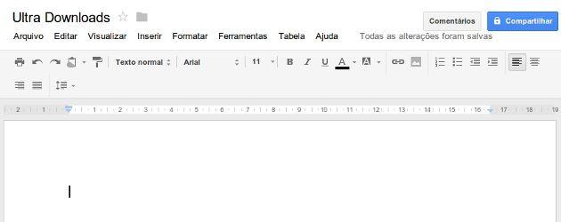 Documento de Texto Google Docs