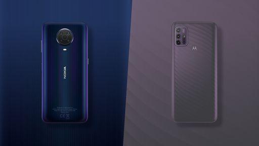 Nokia G20 vs Motorola Moto G10: as semelhanças não estão só no nome
