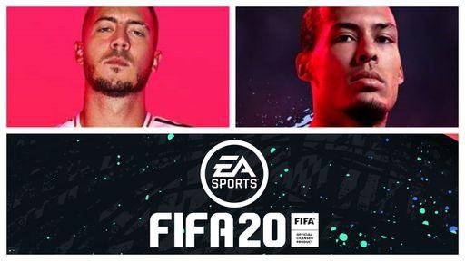 EA anuncia Eden Hazard e Virgil Van Dijk como capas de FIFA 20