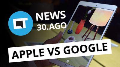 Apple abre guerra contra o Google em R.A.; Uber acusada de suborno [CT News]