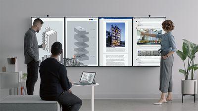 Surface Hub 2 é a lousa digital que você queria no seu escritório e nem sabia