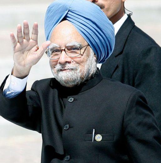 Primeiro ministro indiano Manmohan Singh