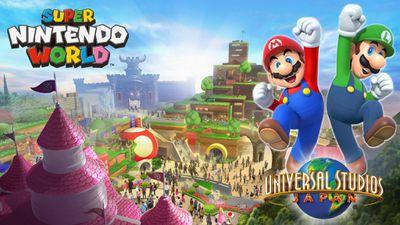'Super Nintendo World', o parque de diversões da Nintendo, abrirá em 2020
