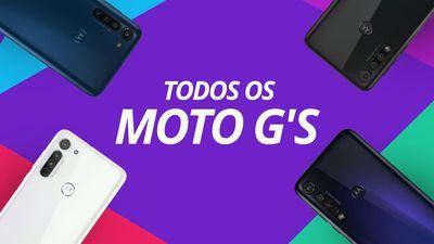 MOTO G8, G8 Power, G8 Play e G8 Plus da MOTOROLA [Comparativo]