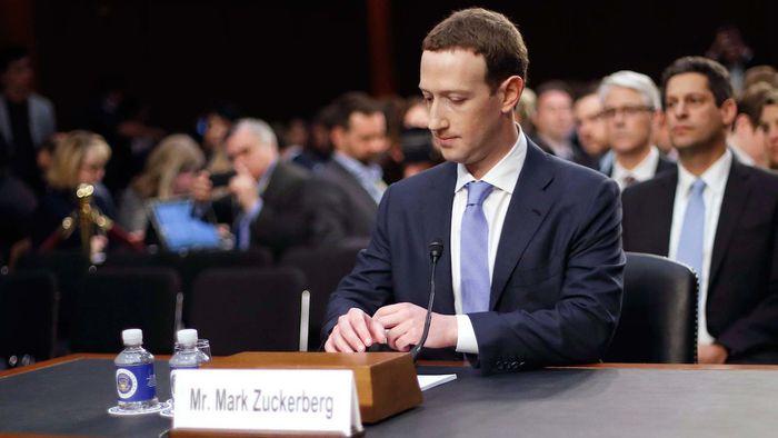 Novo projeto de lei nos EUA colocaria Mark Zuckerberg na cadeia