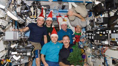 O que vai ter na ceia de Natal dos astronautas que vivem na ISS?