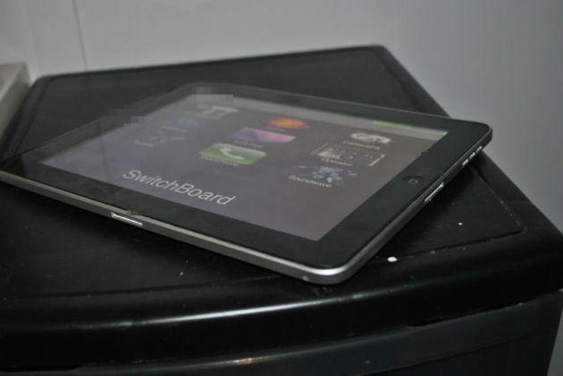 iPad protótipo