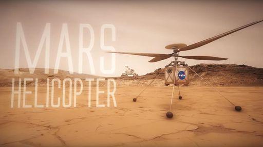 NASA vai levar helicóptero a Marte para estudar possibilidade de voo no planeta
