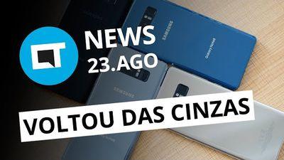 Galaxy Note 8 está entre nós;Meizu anuncia o M6 Note;10 anos de hashtag[CT News]
