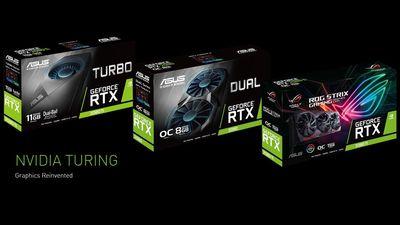 Asus anuncia novas placas de vídeo baseadas nas novas RTX 2080 Ti e RTX 2080
