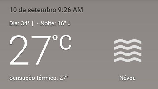 App Clima do Android ganha novo visual inspirado no Material You; veja imagens