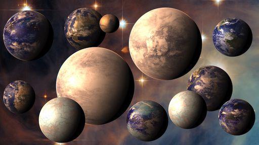 Além de super-Terras e mini-Netunos, pesquisadores propõem as sub-Terras