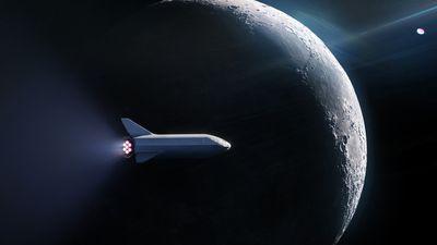 SpaceX escolhe a primeira pessoa a dar uma volta ao redor da Lua com o BFR