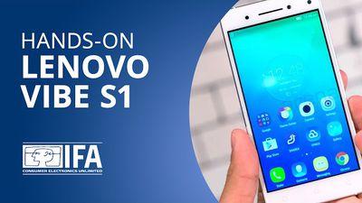 Lenovo Vibe S1: smartphone traz DUAS câmeras frontais para selfies [Hands-on | IFA 2015]