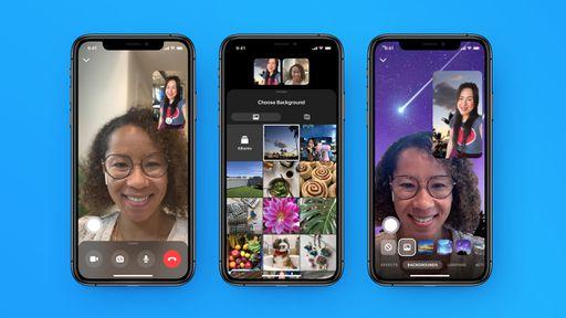 Messenger Rooms permitirá uso de fundos personalizados durante videoconferências