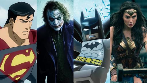 Filmes de super-heróis exclusivos do HBO Max