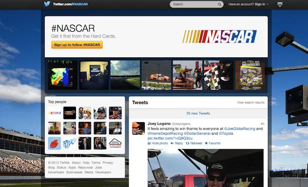 Twitter #Nascar