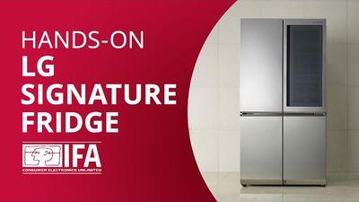 LG Smart Instaview: a geladeira inteligente da sul-coreana [Hands-on IFA 2016]